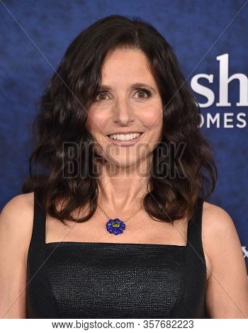 LOS ANGELES - FEB 18: Julia Louis-Dreyfus arriving to the 'Onward' World Premiere on February 18, 2020 in Hollywood, CA