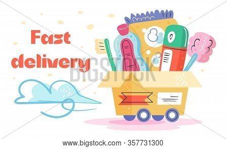 Fast  Delivery. Toothbrush, Antiseptic,washing Powder, Deodorant, Bath. Fast Shop Service.  Coronavi