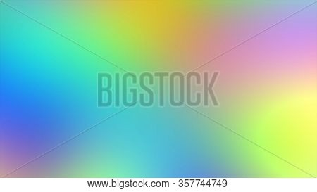 Abstract Blurred Gradient Mesh Background In Bright Rainbow Colors Background, smooth Gradient Textu