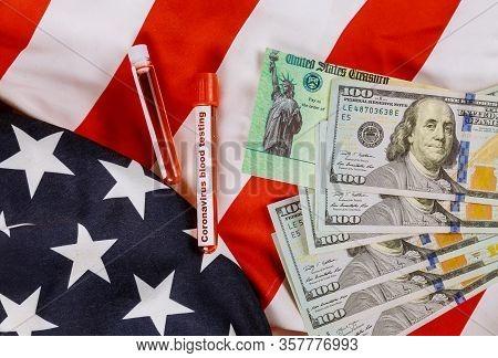 Global Pandemic Covid 19 Lockdown Coronavirus Financial Relief Package Senate Stimulus Individual Ch