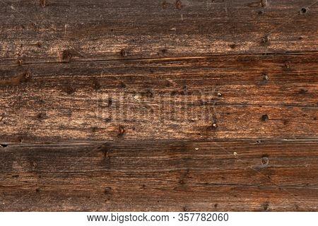 Dark old wooden background texture