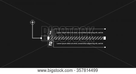 Callout, Headers Vector Illustration. Callout, Headers For Infographics, Advertising, Video Producti