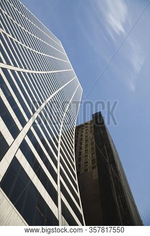 New York, Usa - November 17, 2007. W R Grace Building, Manhattan Highrise Buildings Closeup