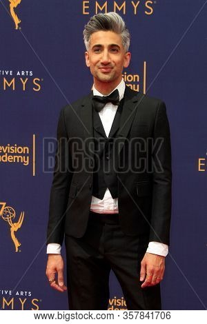 LOS ANGELES - SEP 9:  Tan France at the 2018 Creative Emmy Awards at the Microsoft Theater on September 9, 2018 in Los Angeles, CA