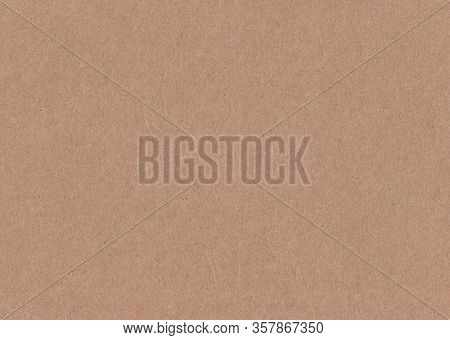 Old Vintage Brown Paper. Textured Background. Stock Photo.