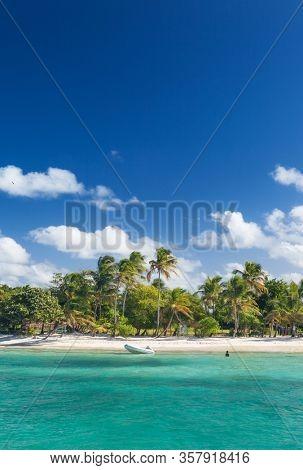 Petit Rameau Carabbean tropical Island Beach Coast