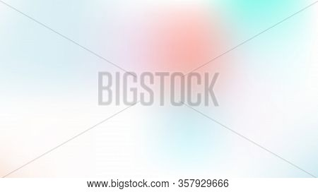 Gradient Mesh Vector Background, Hologram Contrast Overlay. Dreamy Pink, Purple, Turquoise Glitch Fe