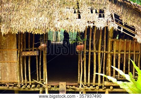 Sabah, My - June 21: Mari Mari Cultural Village Rungus Tribe Old House On June 21, 2016 In Sabah, Ma