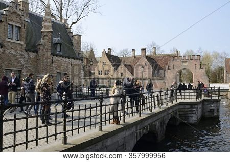 Footpath Along Brugge Canal