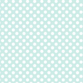 Polka Dot Seamless Pattern. White Dots On Blue Background. For Plaid, Tablecloths, Clothes, Shirts,