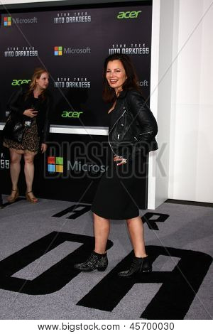 LOS ANGELES - MAY 14:  Fran Drescher arrives at the