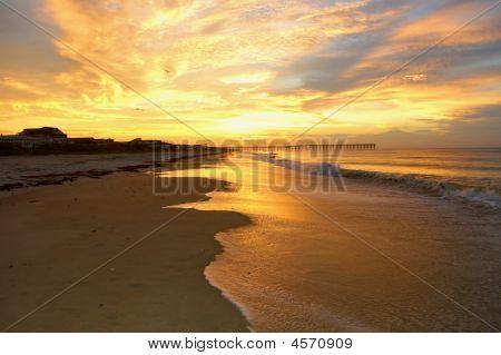 Sunrise at Holden Beach