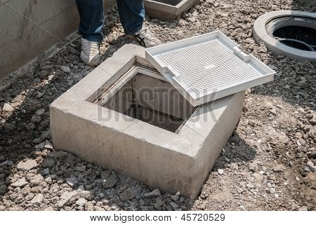 Grease Trap, Pluming Device Used To Intercept Greases And Solids