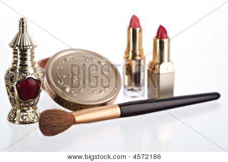 Still Life With Cosmetics