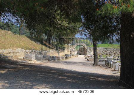 Sitio arqueológico de Olympia