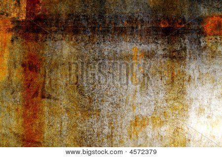 Rusty Steel Sheet Of Steel