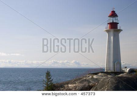Lighthouse On A Rock 1