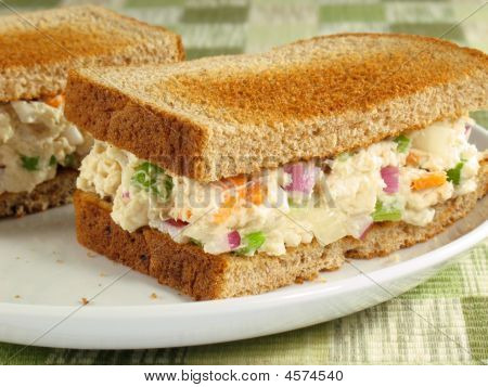 Chicken Salad On Toast