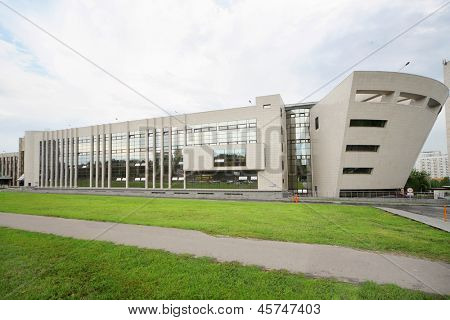 MOSCOW - AUGUST 18: One of buildings of MGIMO, on August 18, 2012 in Moscow, Russia. Moscow State Institute of International Relations founded October 14, 1944.