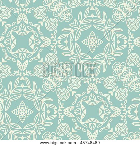 Stylish seamless pattern in mandala style. Seamless pattern can be used for wallpapers, pattern fills, web page backgrounds,surface textures.