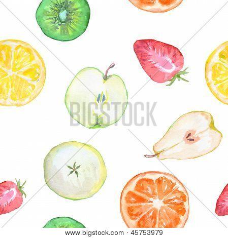 Fruit Slices Seamless