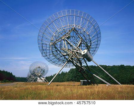 Radio Telescope At Westerbork The Netherlands