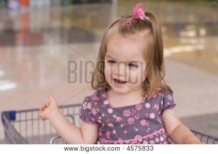 Little Girl On Ride
