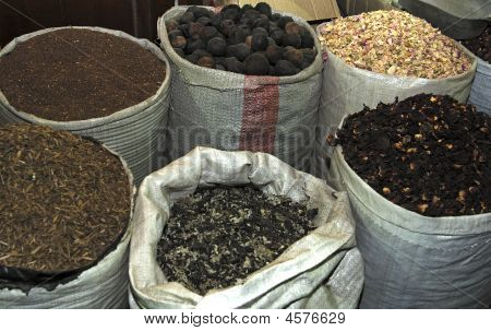 Bags Of Exotic Spices