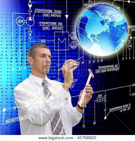 Innovative engineering designing communication