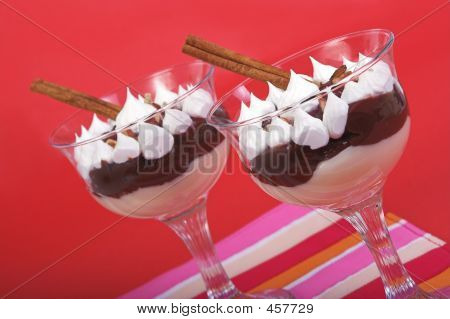 Two Pudding Desserts