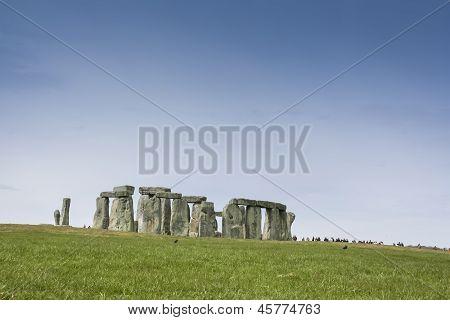 Stonehenge Standing Stones Wiltshire England
