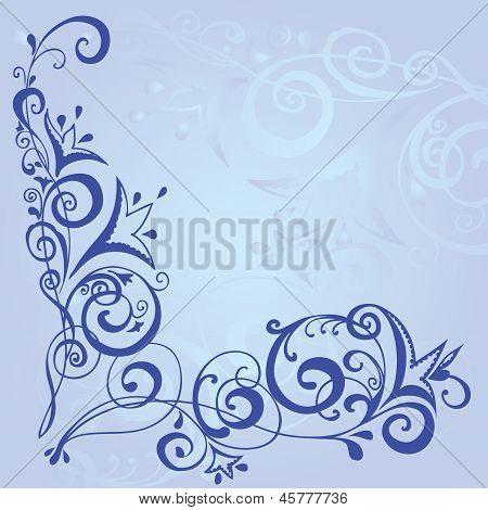 Blue Background Pattern