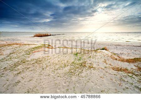 Sand Coast By Ijsselmeer, Hindeloopen