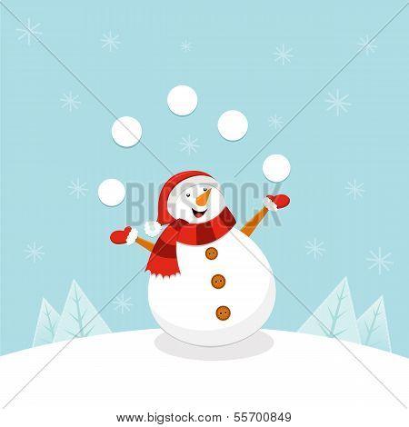 Snowman Juggling