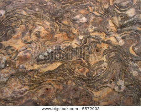 Rock Swirl Pattern