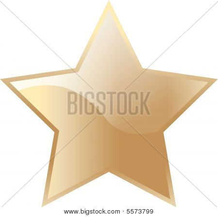 Vector Gold Star