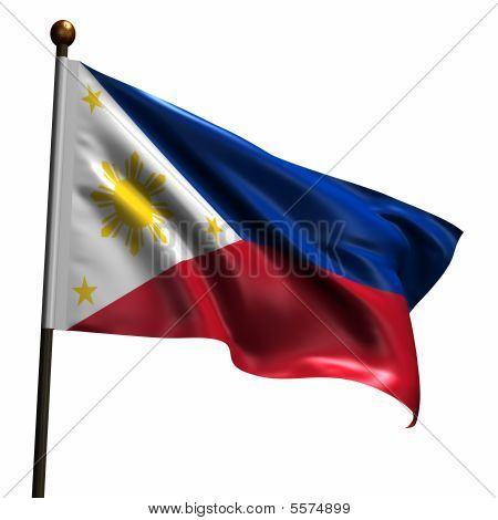High Resolution Flag Of Philippines