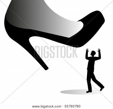 shoe giant female