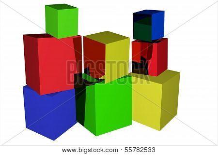 beautiful building blocks