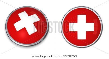 Banner Button Swiss