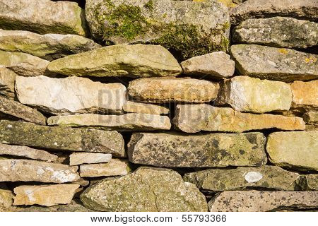 Cotswold Drystone Wall