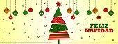 Feliz navidad, fondo para navidad con tamano para portada de facebook. poster