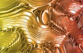 Liquid Metal Wild Clean Ripple Texture Background poster