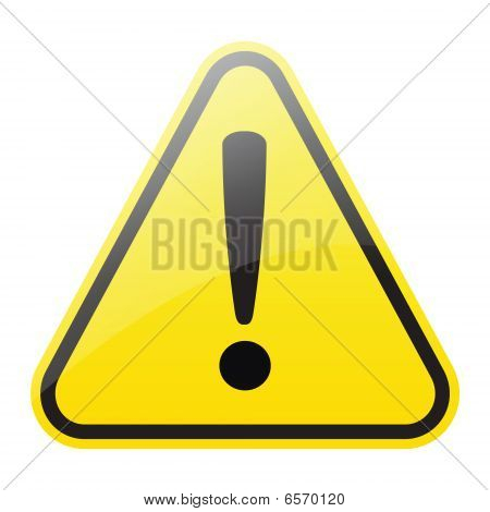 warning sign (vector)
