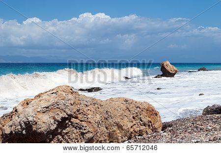 Colorful, Beautiful Seascape.