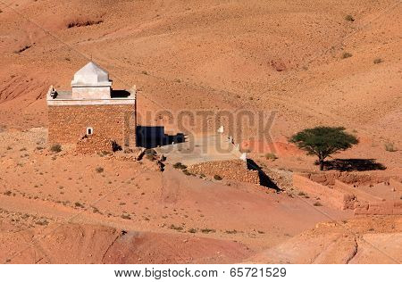 Ait Ben Haddou Kasbah, UNESCO World Heritage Site. Ouarzazate, Morocco