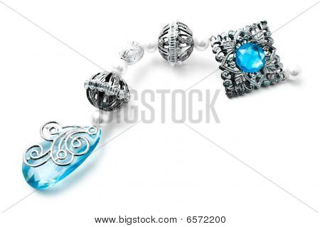 Jeweller Decoration With A Stone