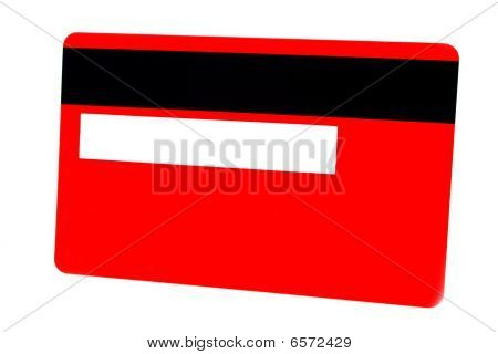 Red Plastic Card