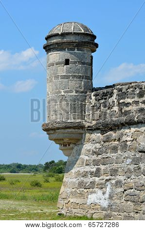 Fort Matanzas Turret
