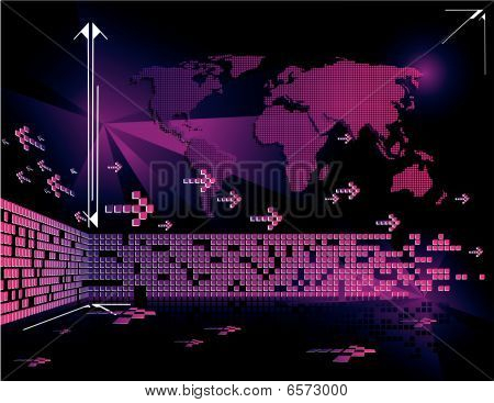 world bussiness vector